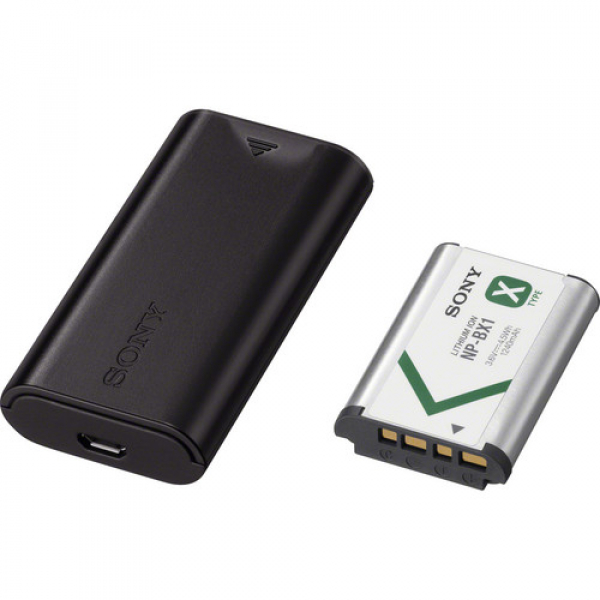 Sony Battery + Charger Kit BX1 (ACC-TRDCX)