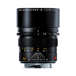 Leica Telephoto 90mm f2.0 APO Summicron M Black