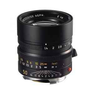 Leica Lens Normal 50mm f/1.4 Summilux M black