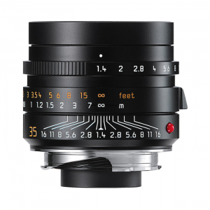 Leica Lens Summilux-M 35mm f/1.4 ASPH (Black)
