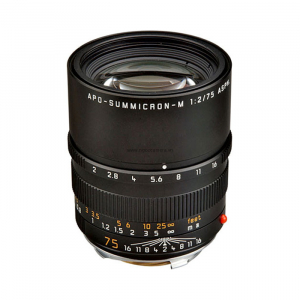 Leica Lens Telephoto 75mm f/2.0 APO Summicron M