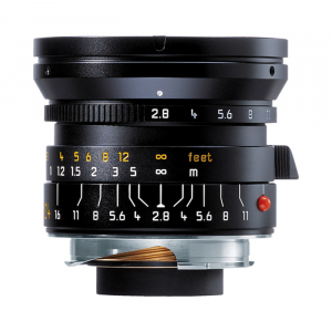 Leica Lens Wide Angle 24mm f/2.8 Elmarit M Black