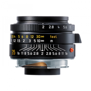 Leica Lens Wide Angle 35mm f/2.0 Summicron M Black