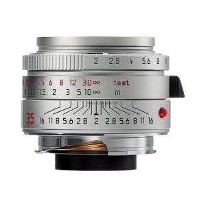 Leica Lens Wide Angle 35mm f/2.0 Summicron M silver