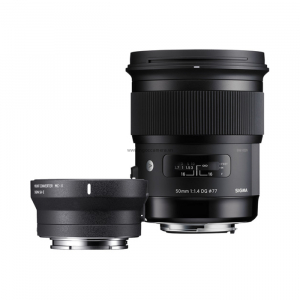 Sigma 50mm f1.4 DG HSM Art  and MC-11  Adapter for Sony - Chính hãng