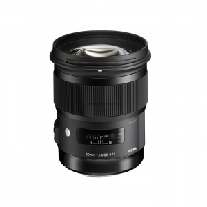 Lens Sigma 50mm F1.4 DG HSM Art for Canon/Nikon