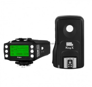 Pixel King Pro Wireless Flash Trigger for Canon/Nikon