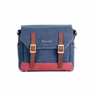 Herringbone Postman Small - Navy