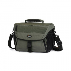 Lowepro Nova 190 AW (Black/Chestnut Brown)