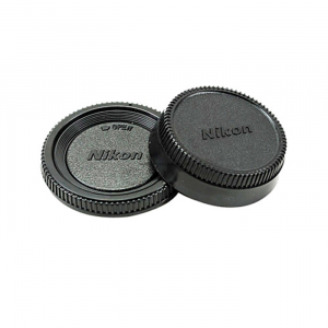 Cap body and Rear cap for Nikon, Canon, Pentax