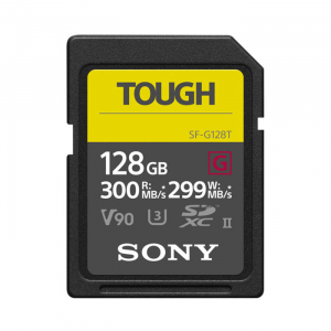Thẻ nhớ Sony 128GB SF-G Tough Series UHS-II SDXC