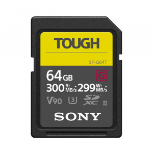 Thẻ nhớ Sony 64GB SF-G Tough Series UHS-II SDXC