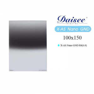 Kính lọc Filter Daisee 100x150 X-AS Nano GND R8 (0.9)