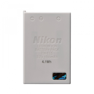 Pin Nikon EN-EL5 Battery (for Nikon Coolpix 3700, 4200, 5200, 5900, 7900, Coolpix P100, P3, P4, P500, P5000, P510, P5100, P520, P530, P6000, P80, P90 and Nikon Coolpix S10