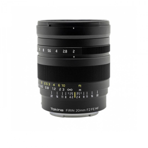 Tokina FiRIN 20mm F2 MF for Sony E-mount