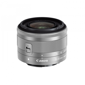 Canon EF-M 15-45mm F/3.5-6.3 IS STM (Black/Silver)